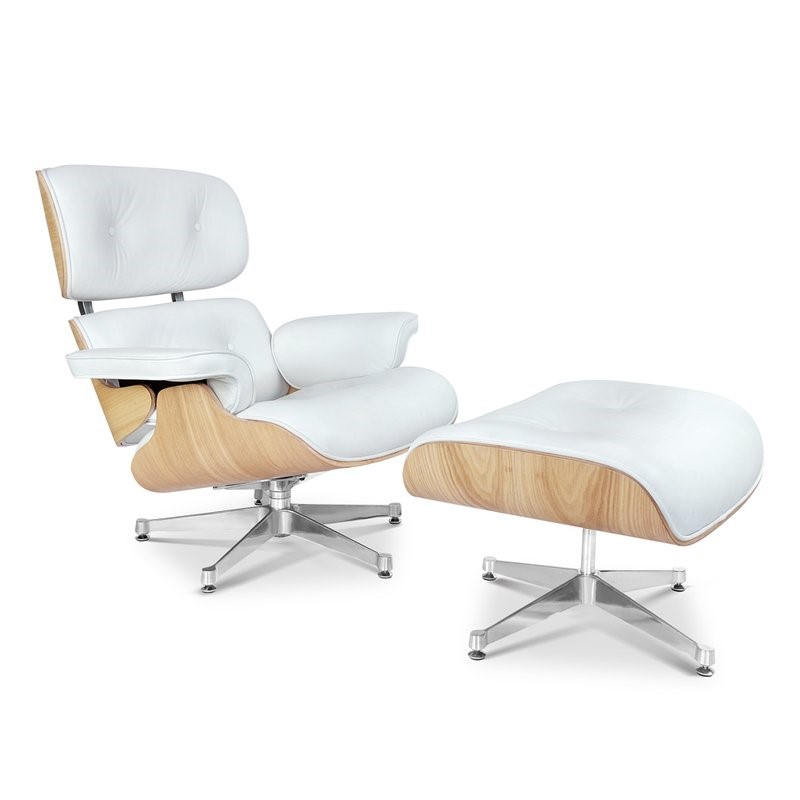 Eames Style Lounge Chair And Ottoman ASHWOOD Plywood
