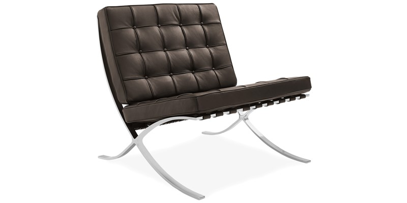 barcelona style chair inspired by mies ven der rohe modandcomfy